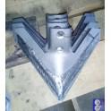 лапа John Deere 300мм бронированная